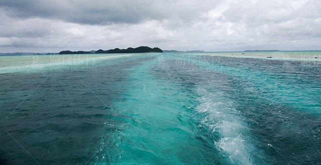 帕劳七色海