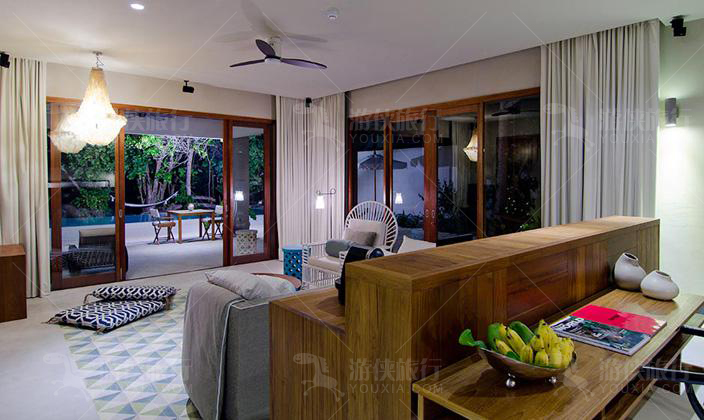 阿米拉双卧室沙滩屋
