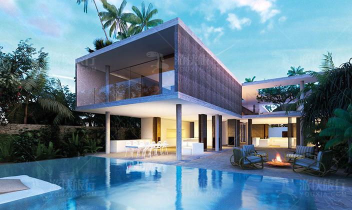 阿米拉三卧室海滩豪宅