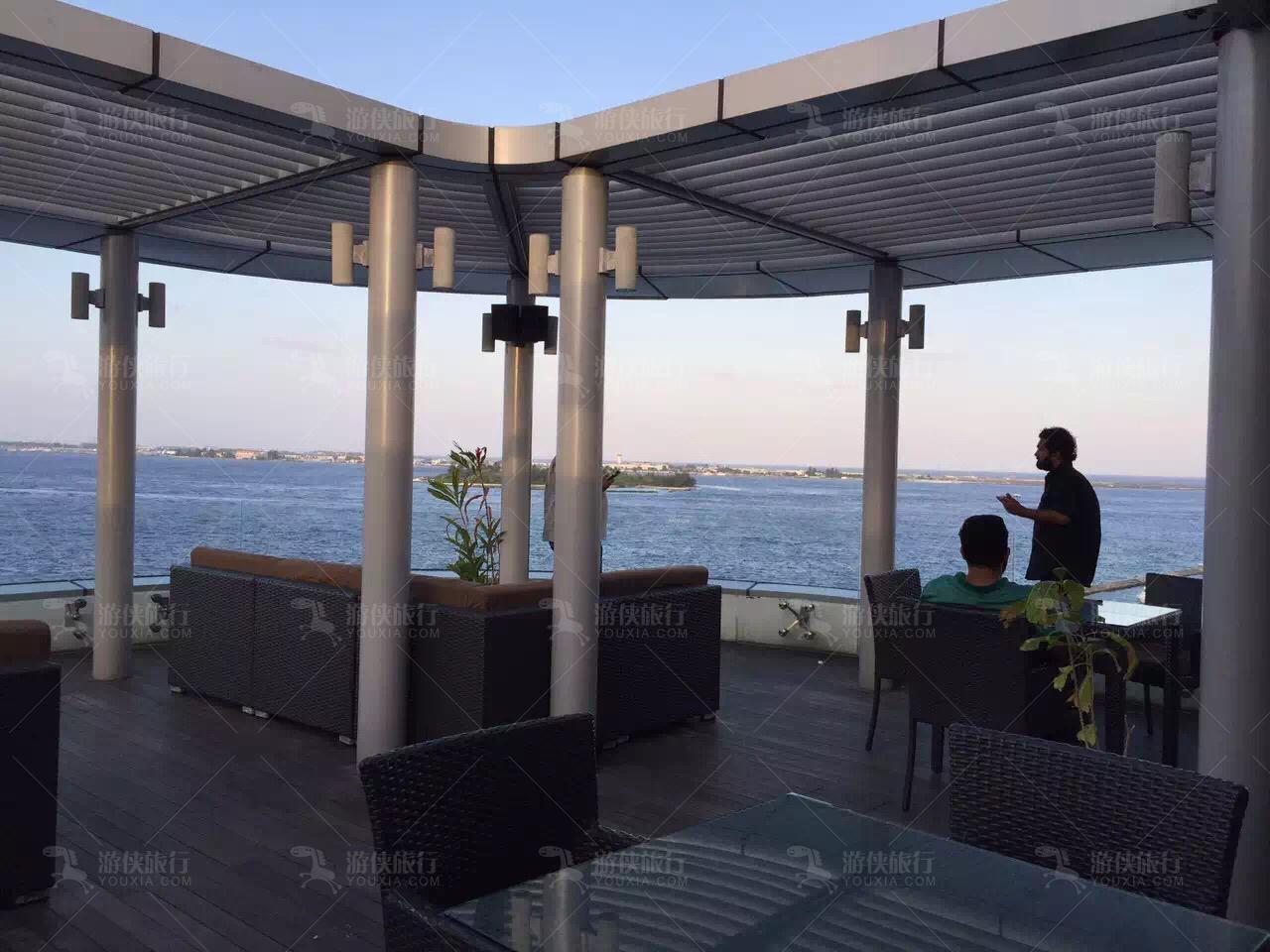 马累海边咖啡厅