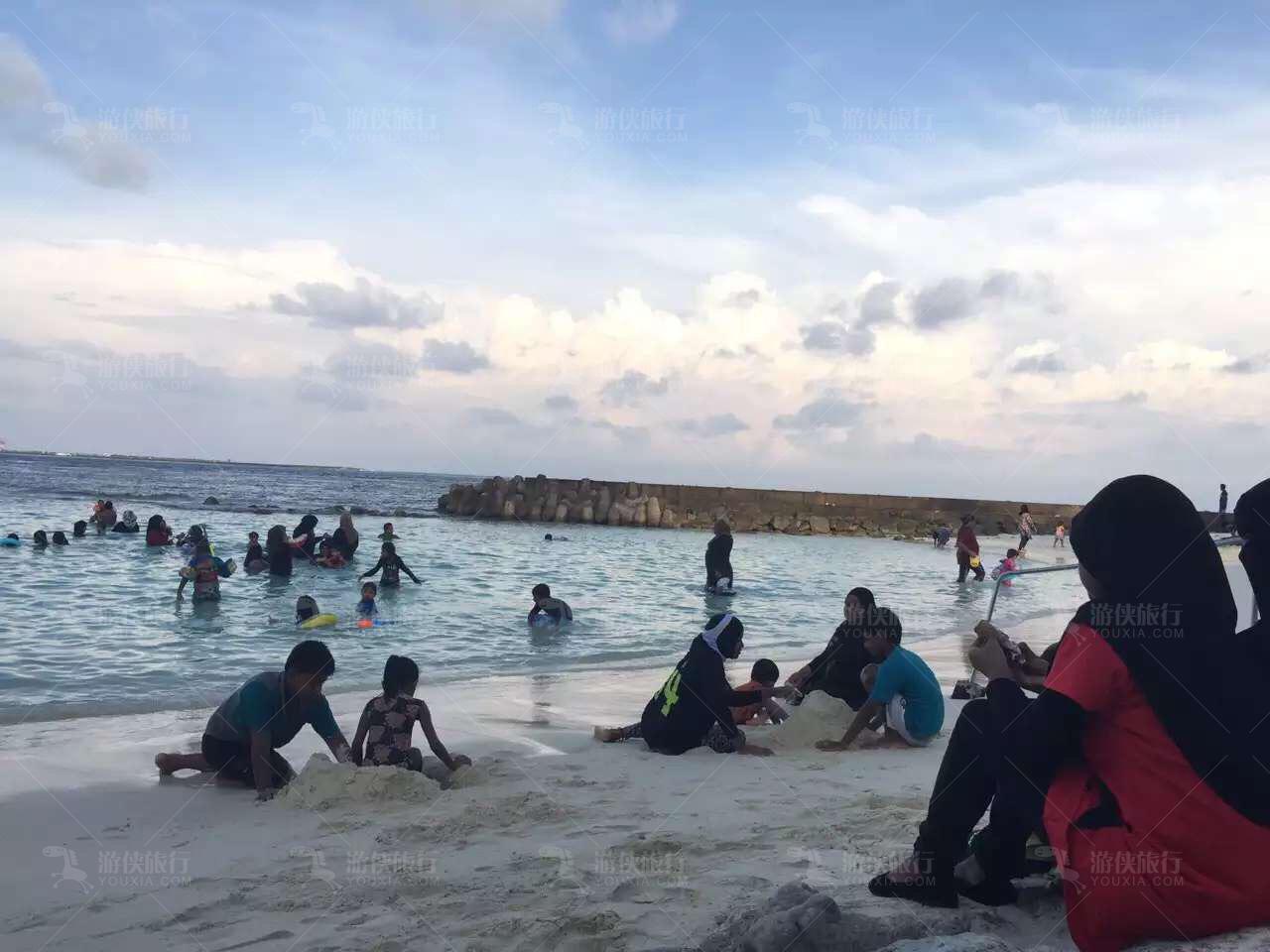马累·Artificial Beach