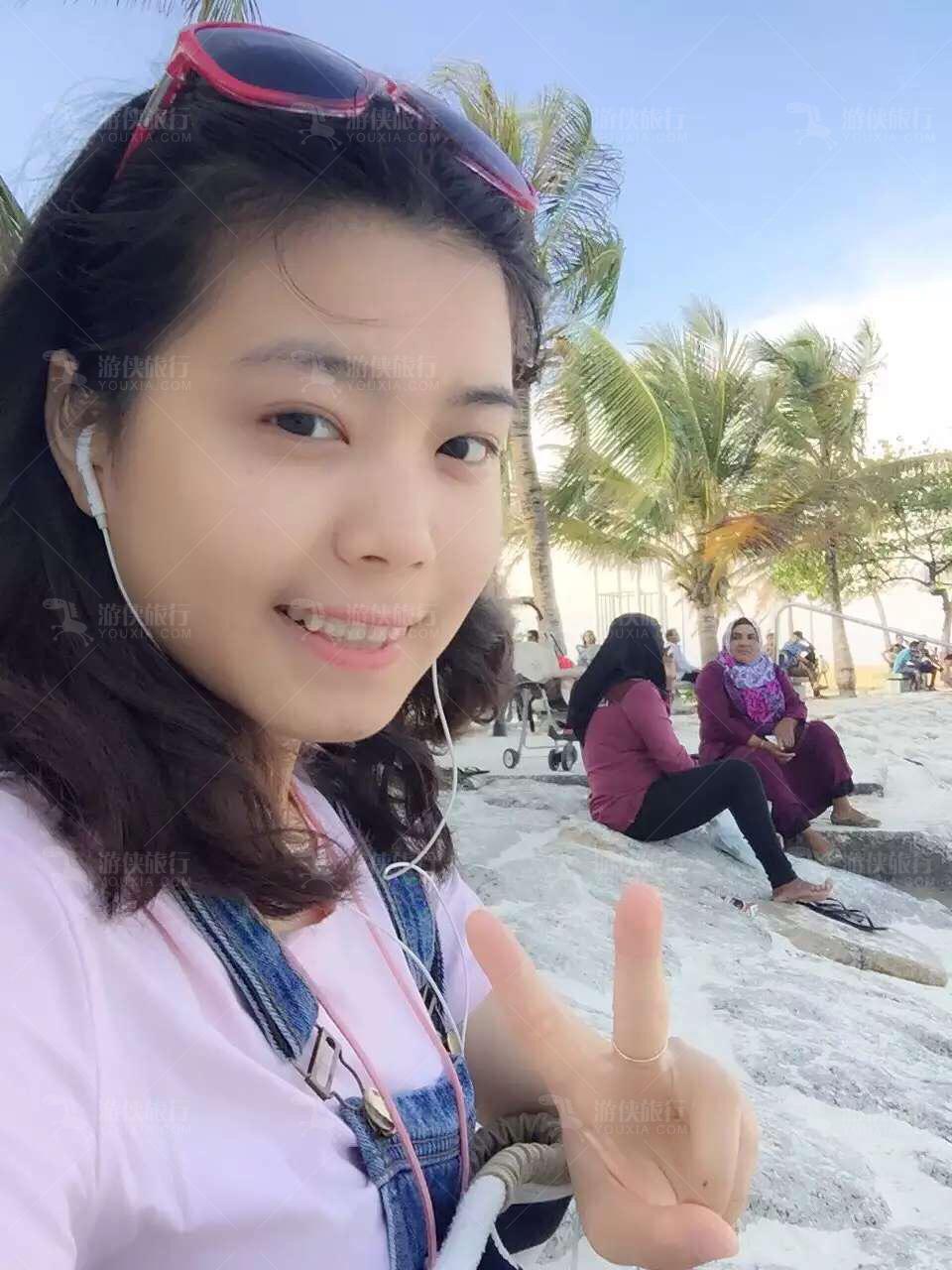 游侠在马累·Artificial Beach