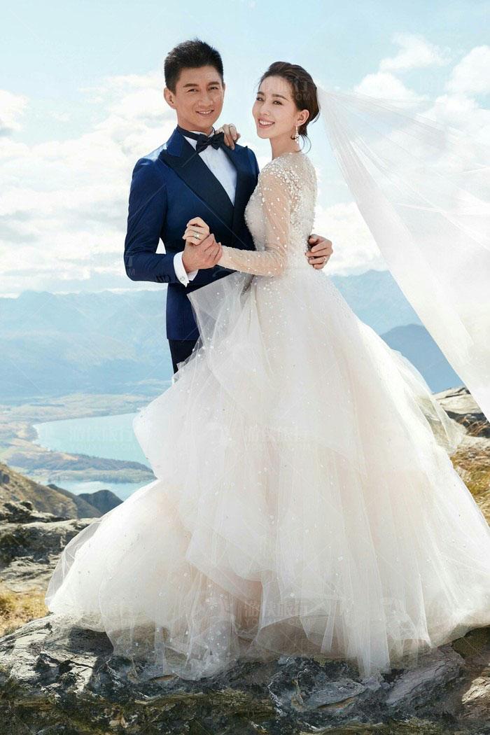 刘诗诗吴奇隆结婚