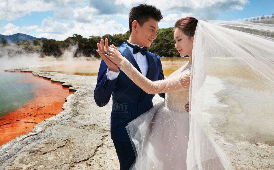 刘诗诗吴奇隆新西兰婚纱