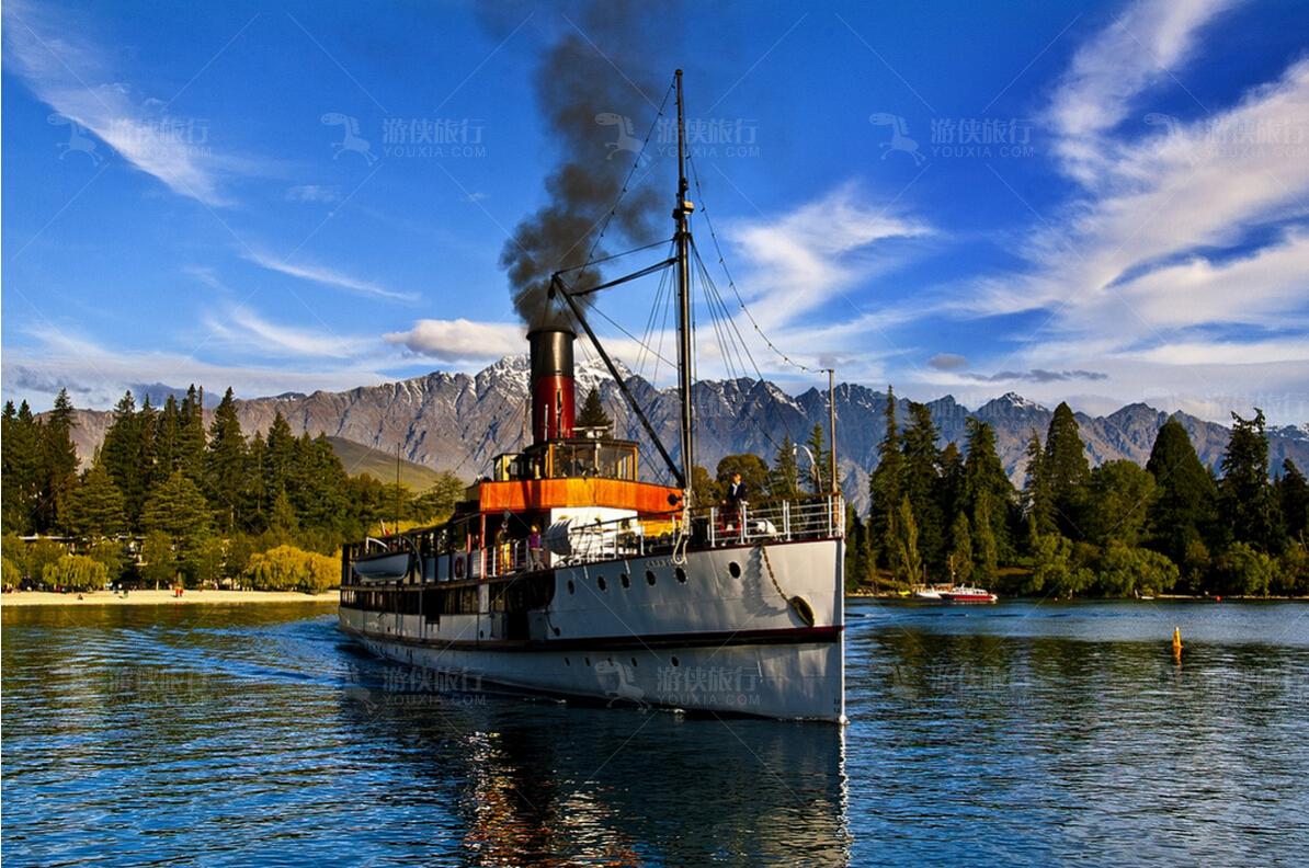 皇后镇厄恩斯劳号蒸汽船