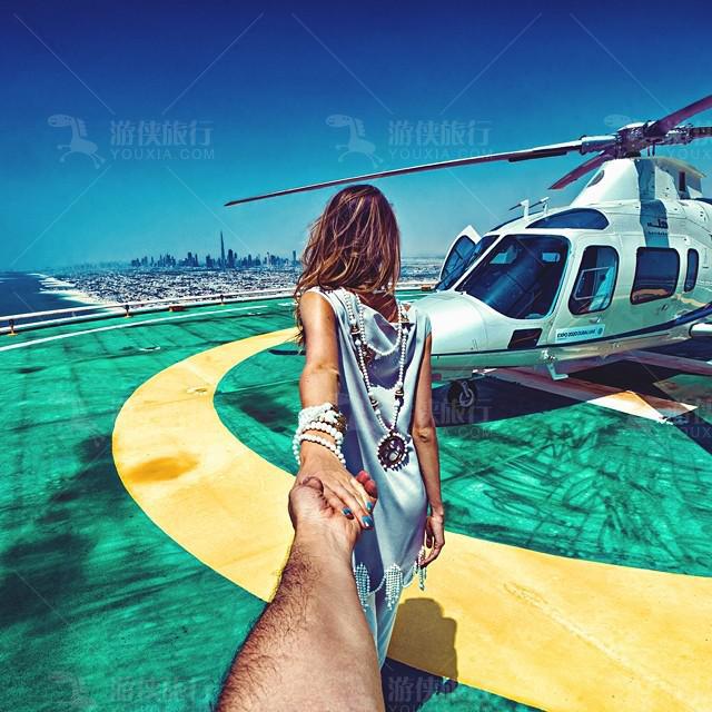 阿拉伯塔酒店直升机
