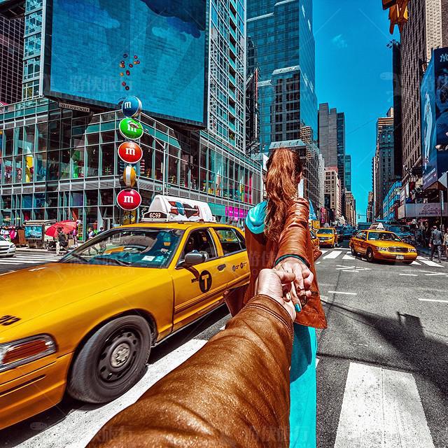 纽约黄色出租车