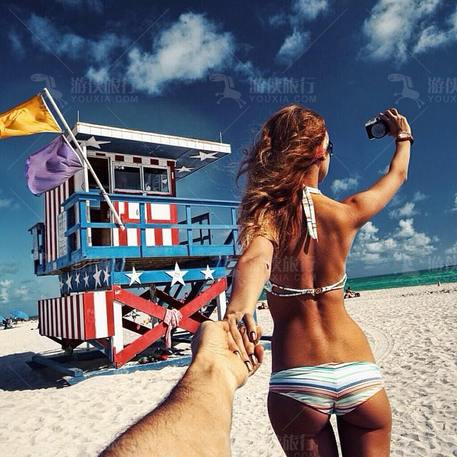 迈阿密阳光沙滩