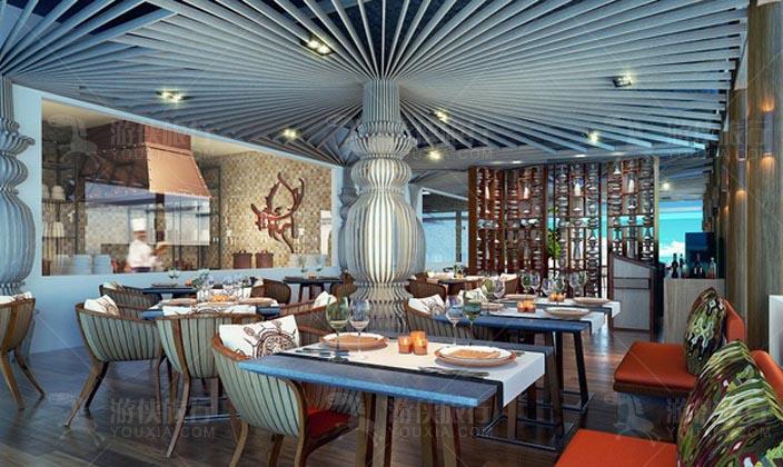 奥臻岛传统南亚风味餐厅
