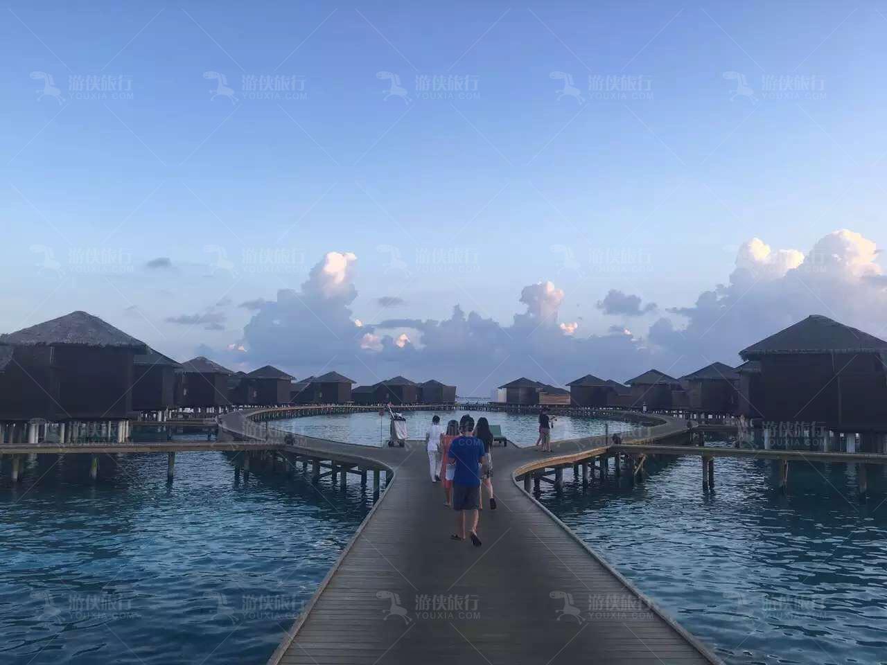 马尔代夫JD岛房型