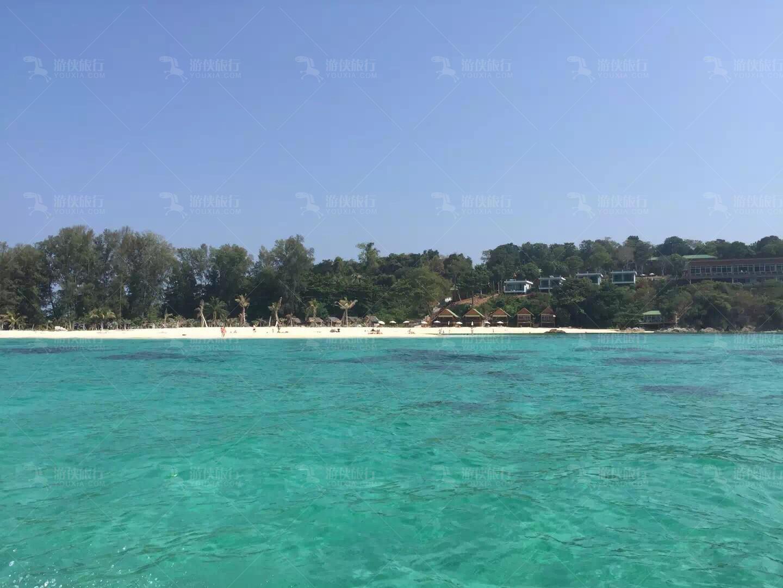 丽贝岛美丽海景