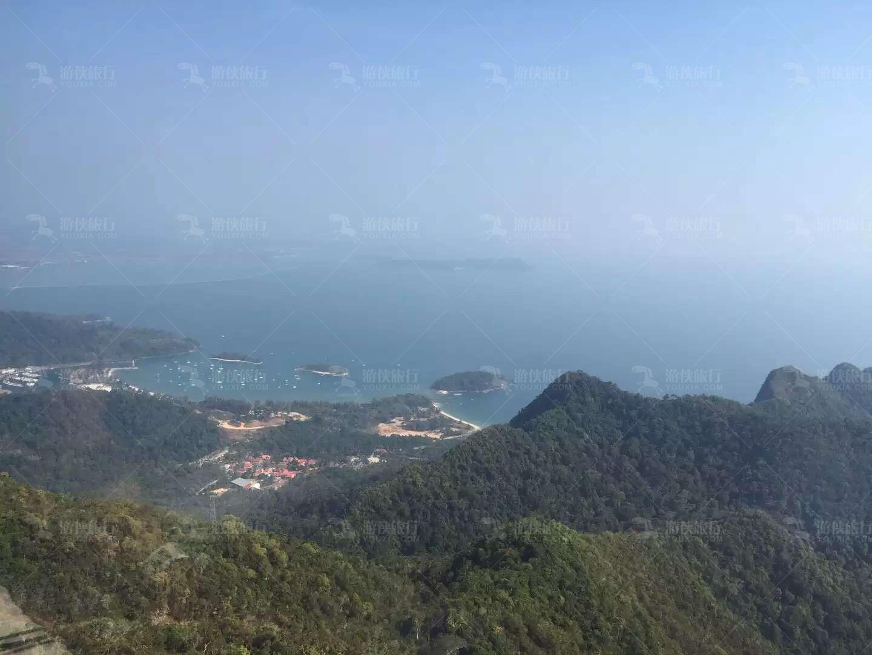 兰卡威世界地质公园俯瞰