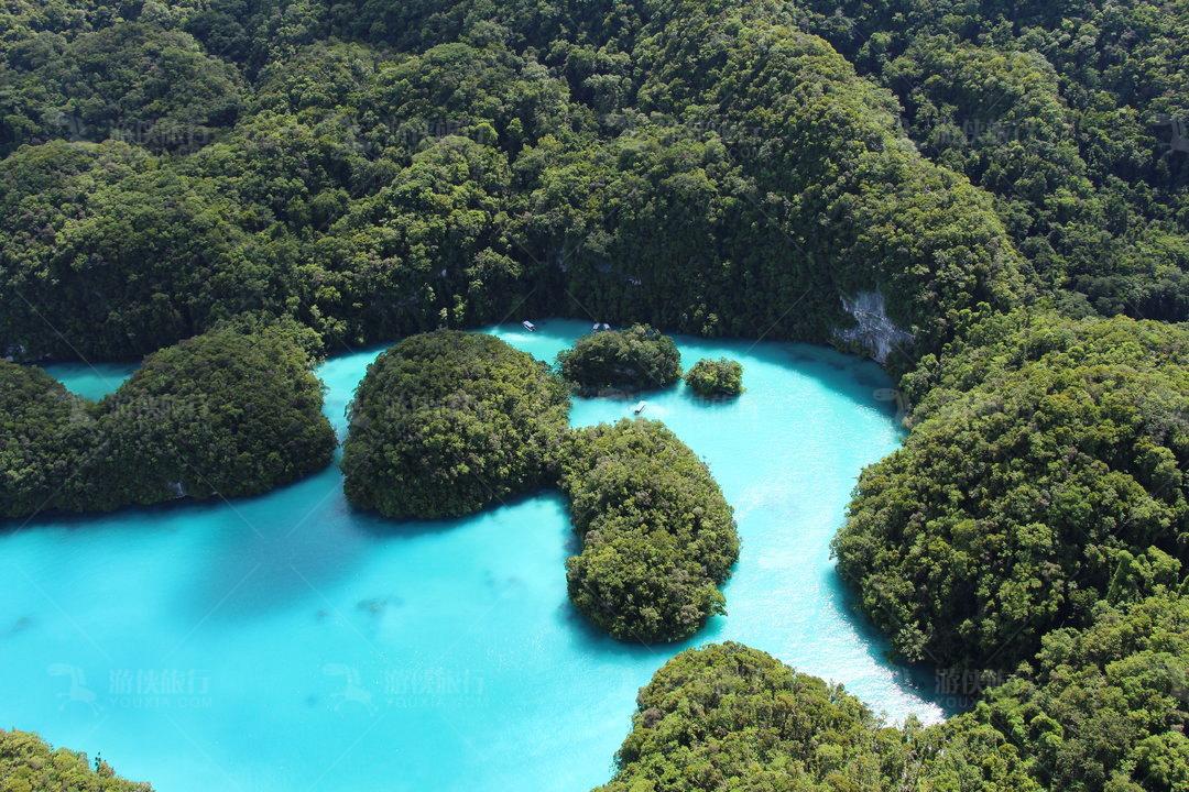 帕劳牛奶湖