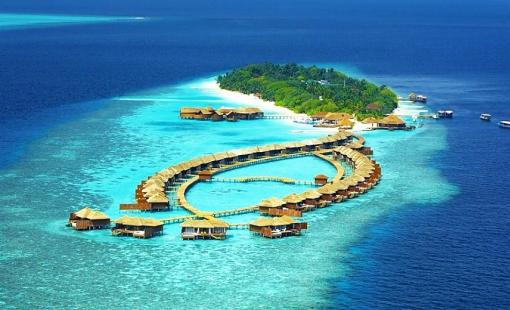馬爾代夫莉莉島Lily Beach Resort6天4晚自由行 一價全包、浮潛裝備免費租借、中文服務、水飛上島