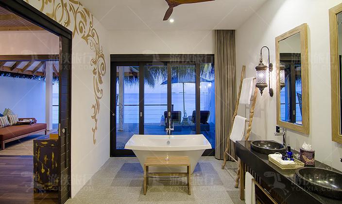 菲诺芙双卧室海洋泳池别墅