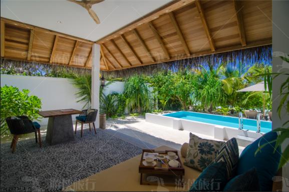 菲诺芙海滩泳池别墅室内