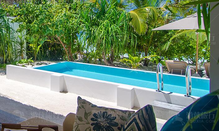 菲诺芙顶级双卧室海滩泳池别墅