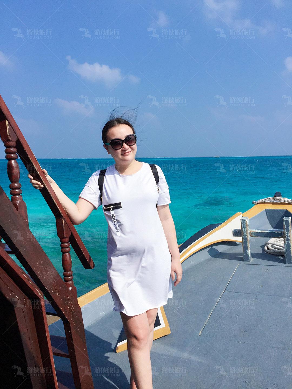 马尔代夫水天一色