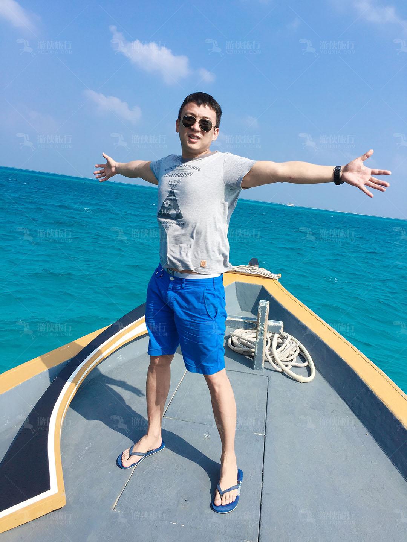 马尔代夫海天一色