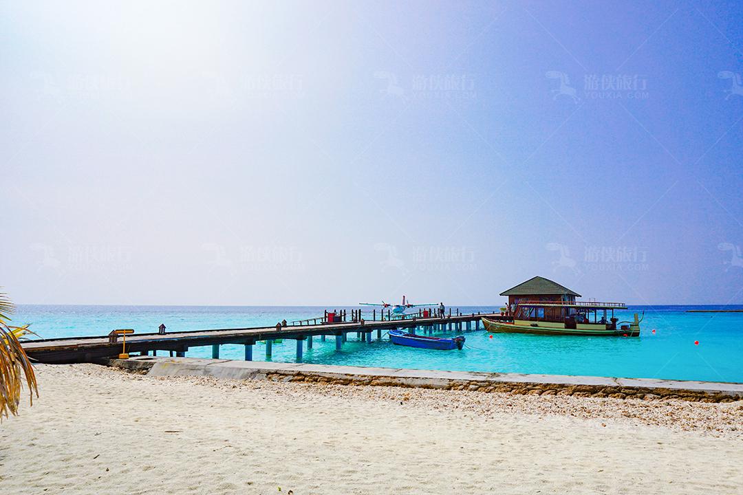 马尔代夫蜜都帕茹岛码头