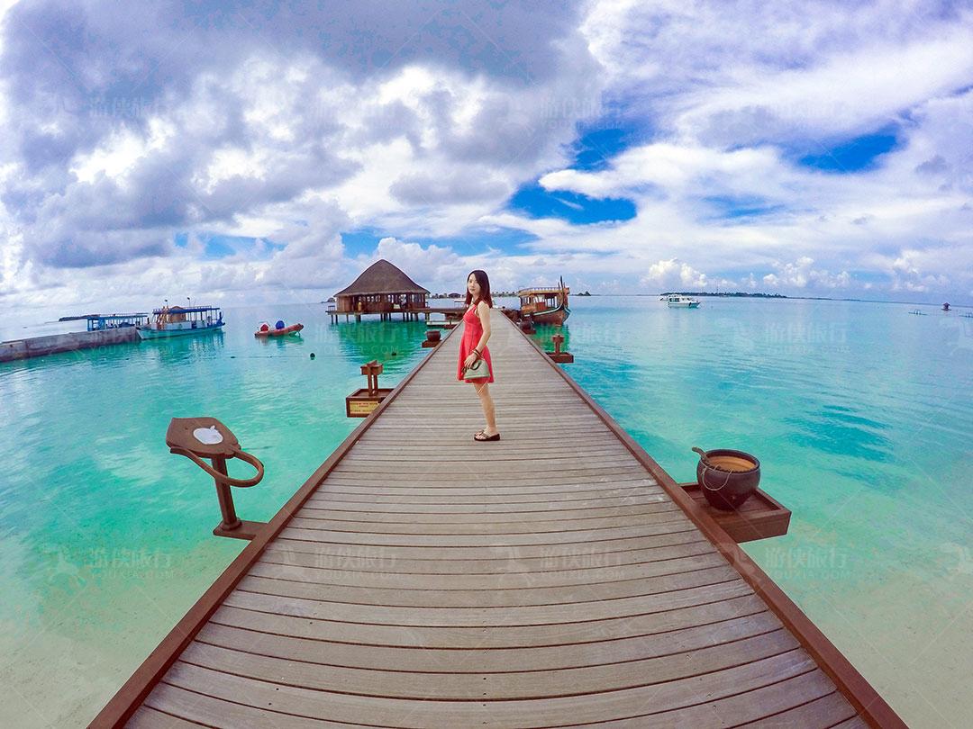马尔代夫海龟岛亲子游
