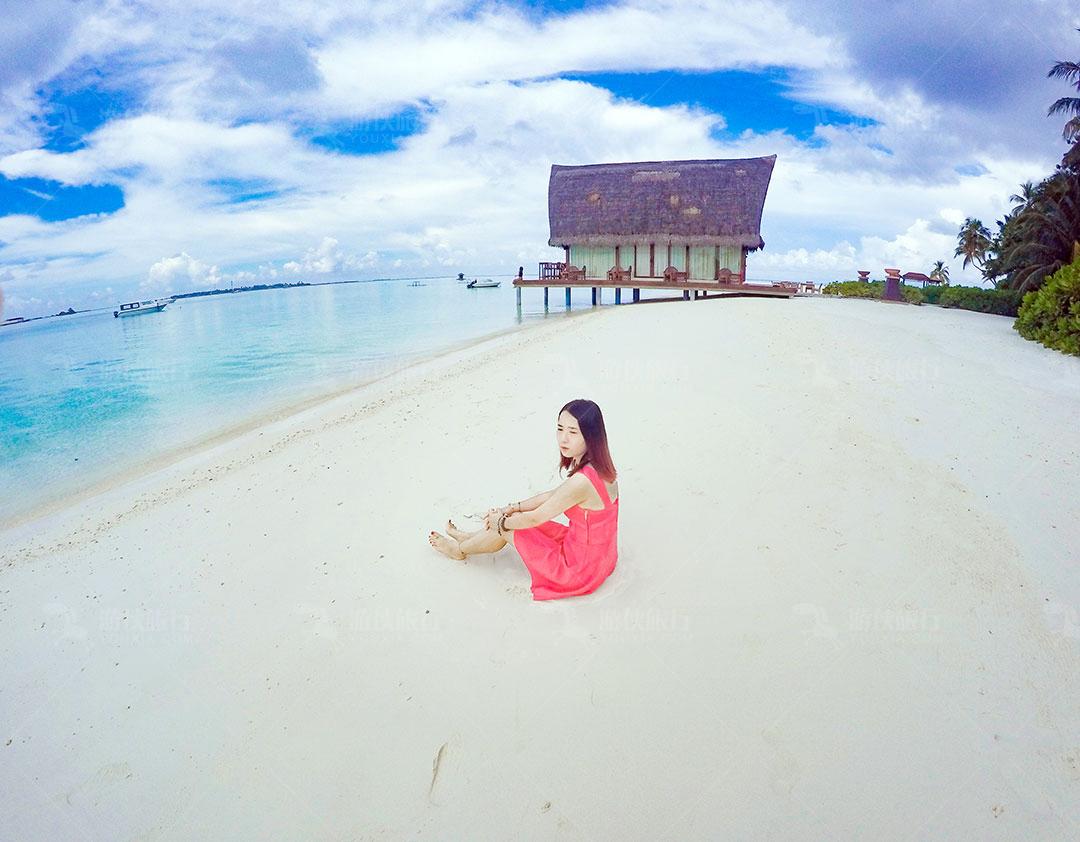 马尔代夫海龟岛度假