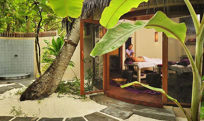 马尔代夫鲁滨逊spa