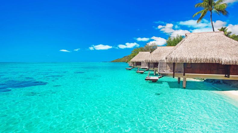 马尔代夫水屋