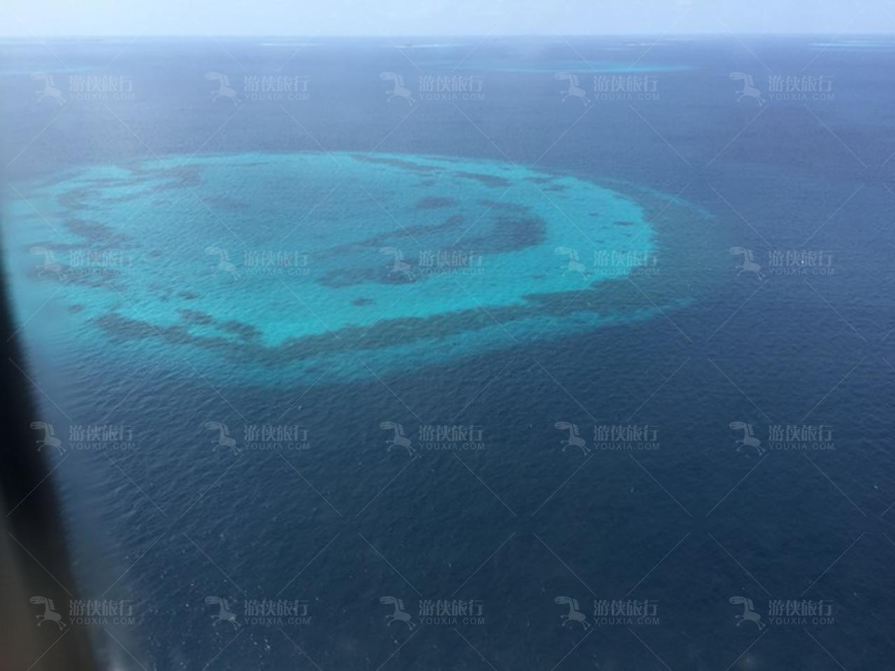 马尔代夫岛屿全景