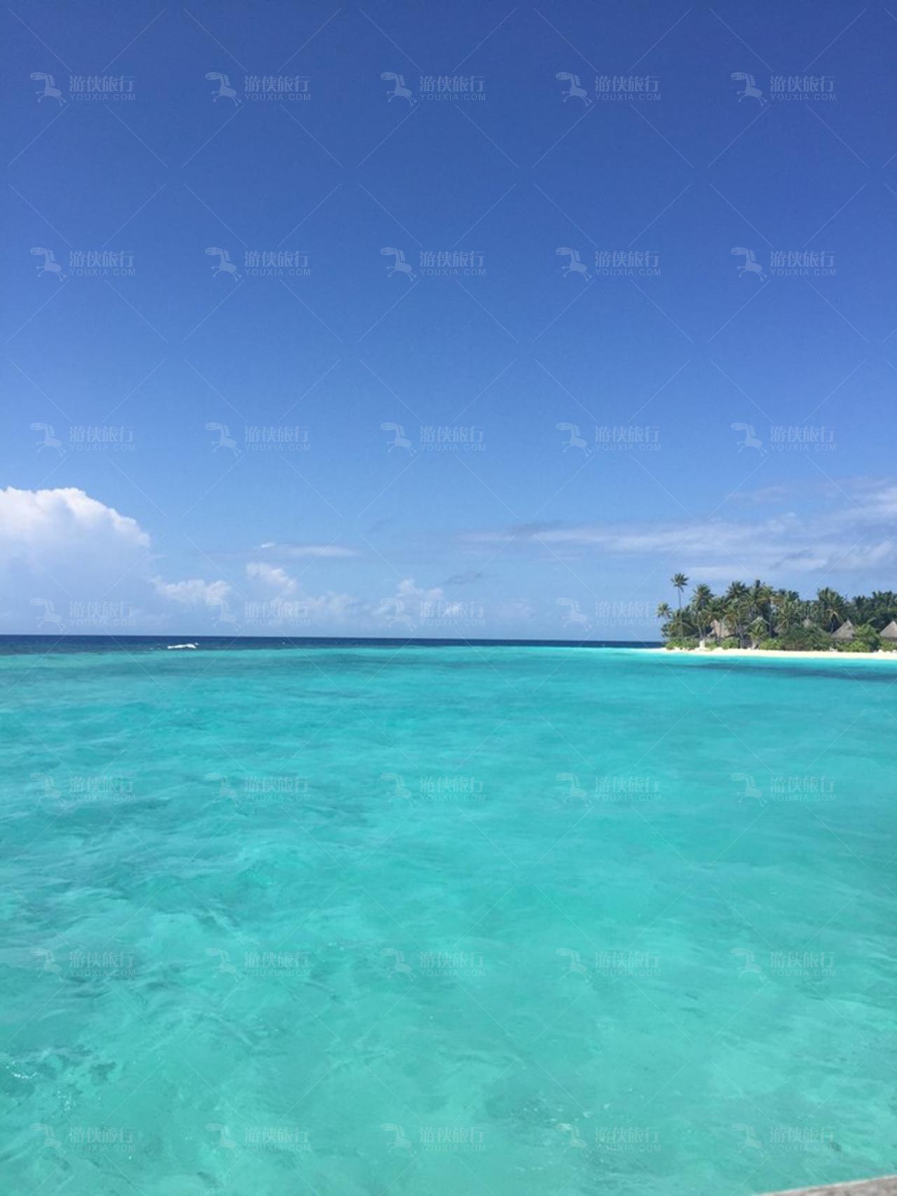 马尔代夫安嘎嘎的海
