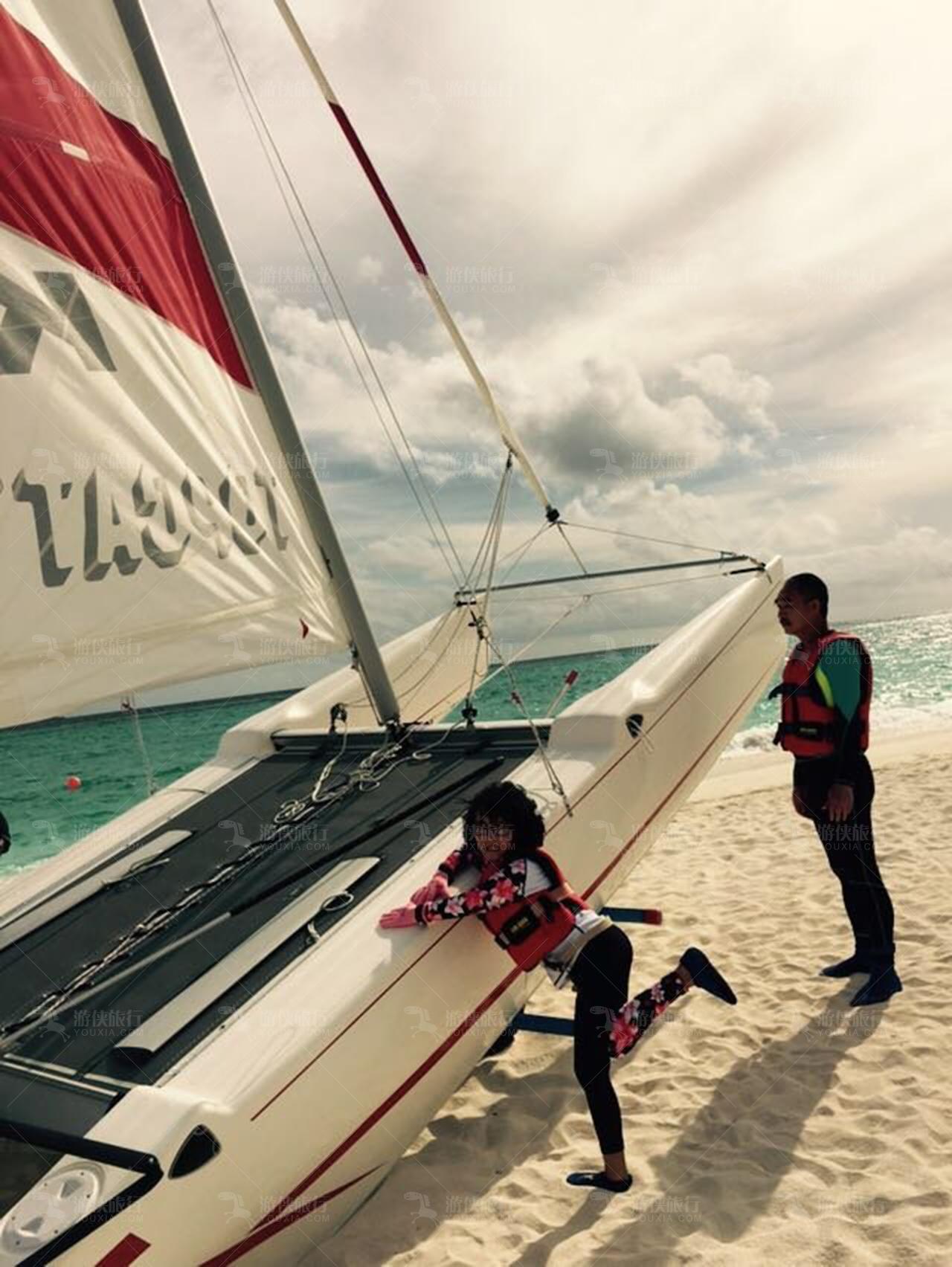 马尔代夫帆船出海