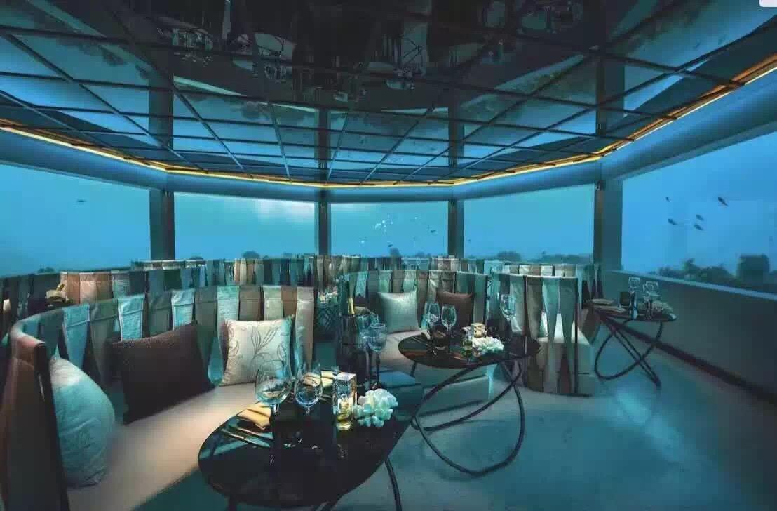 奥臻岛海底餐厅