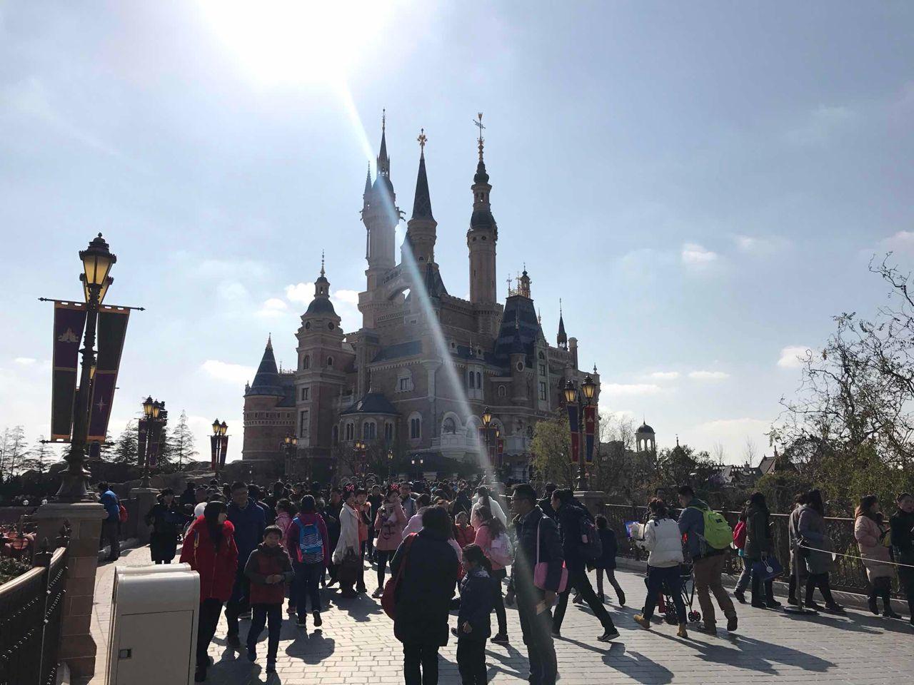 上海迪士尼游园