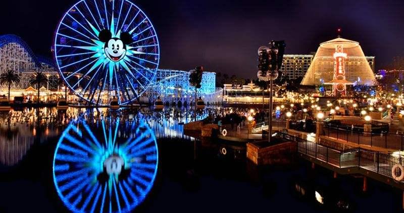 美国洛杉矶加州迪士尼乐园