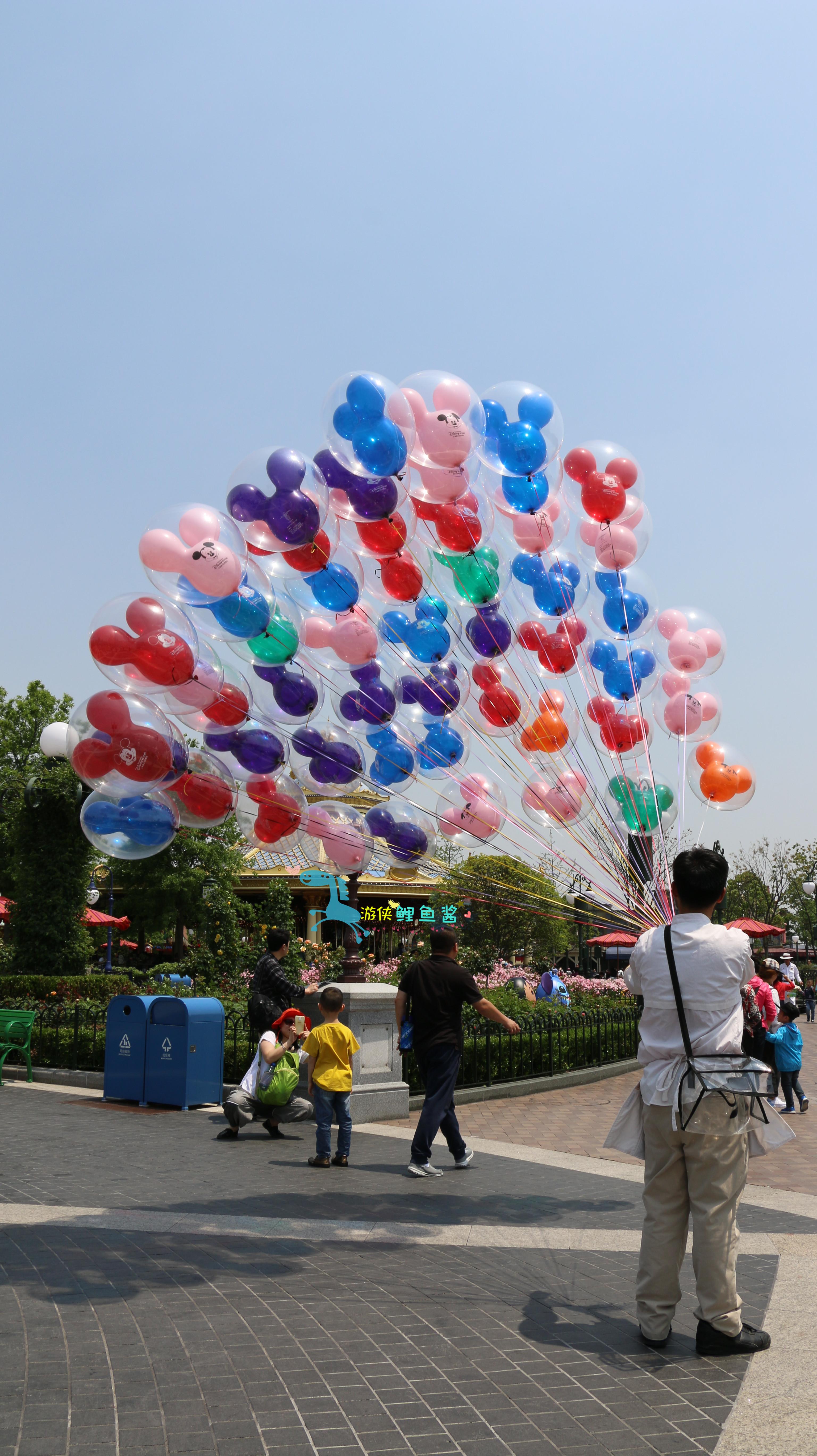 迪士尼氢气球