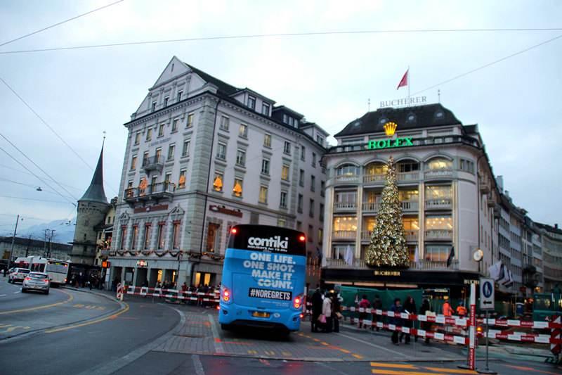 瑞士琉森免税店