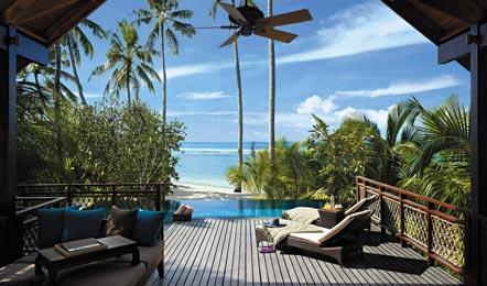 馬爾代夫香格里拉 Shangri-La's Villingili 6天4晚自由行(六星級的頂級奢華島嶼、6公里的極美海岸線和2公里純白色沙灘、房間有私人泳池)