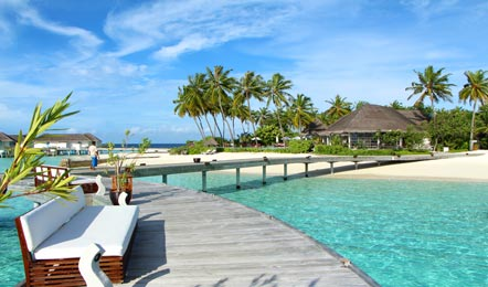 馬爾代夫中央格蘭德Centara Grand Island Resort&Spa6天4晚自由行(非常適合帶小孩的家庭度假、一價全包島嶼、有中文GO、兒童樂園、浮潛很好)