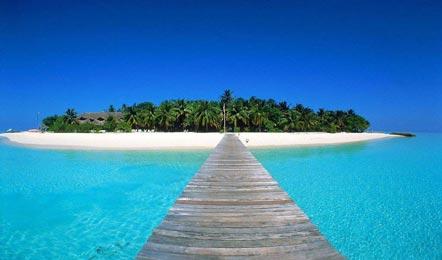 马尔代夫泰姬珊瑚岛Vivanta Coral Reef Resort by Taj6天4晚自由行(豪华度假村、一颗类似心型小岛、A级浮潜、中文服务)